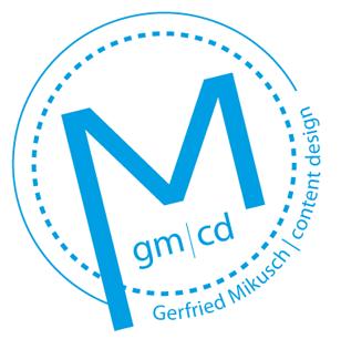Gerfried Mikusch content design - HOME