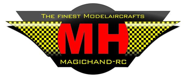 Logo der Modellbaumarke Magichand-RC