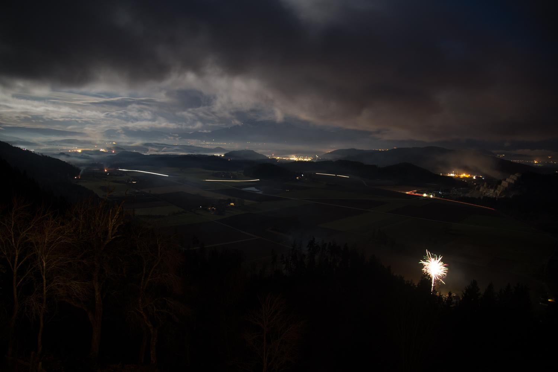 Osterfeuer mit Feuerwerk 2018