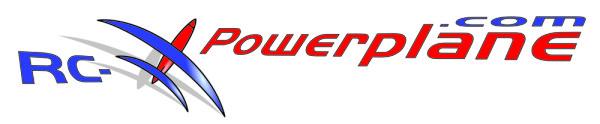 Firmenlogo des Modellbauunternehmens RC-Powerplane
