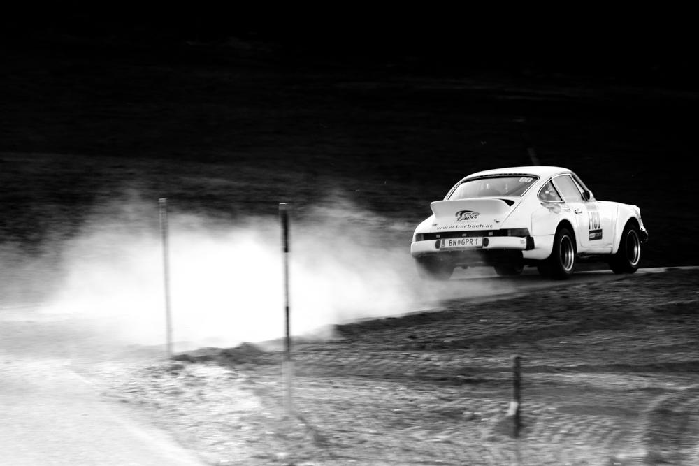 Historischer Porscher bei der Lavanttal Rallye 2011