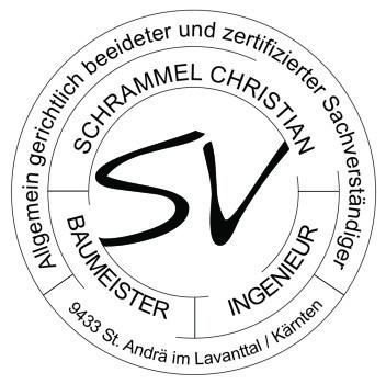 Rundsiegel von Baumeister Schrammel