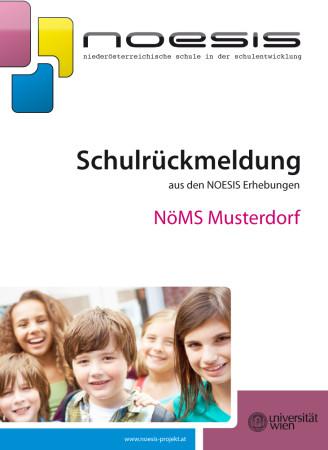 Titelseite einer Schulrückmeldung