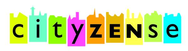 Logo für das Universitätsprojekt cityZENse